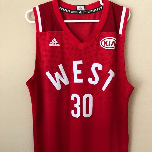 new products 2dc9a 1dc6b NBA All-Star West Steph Curry Jersey